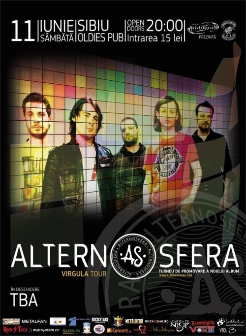 Concert Alternosfera in Oldies Pub din Sibiu
