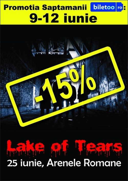 Concert Lake Of Tears: s-au ieftinit biletele!