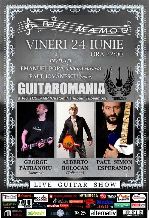 Show live Guitaromania in Big Mamou
