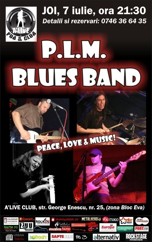 Concert PLM Blues Band in A'live Club