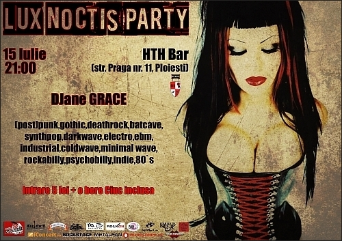 Lux Noctis Party in Bar HTH in Ploiesti