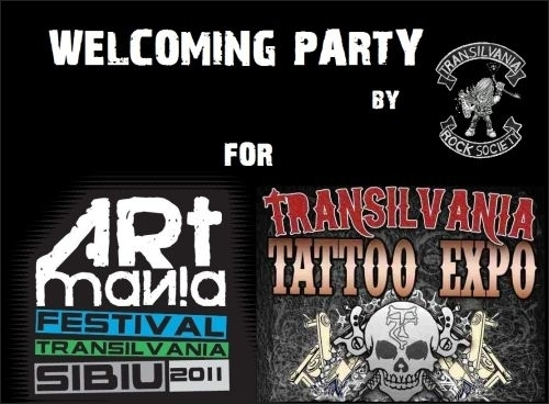 Artmania Festival - Welcoming Party marca Transilvania Rock Society in Oldies Pub Live Music