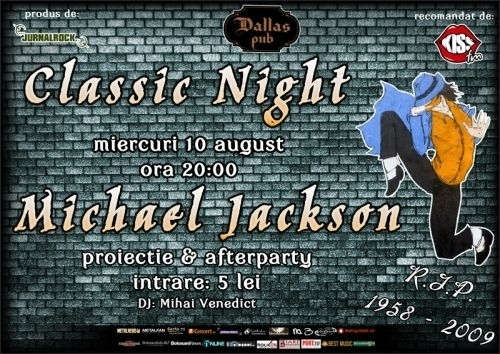 Tribut Michael Jackson in Dallas Pub din Botosani