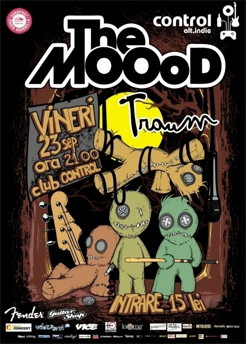 Concert The MOOoD si Traum in Club Control