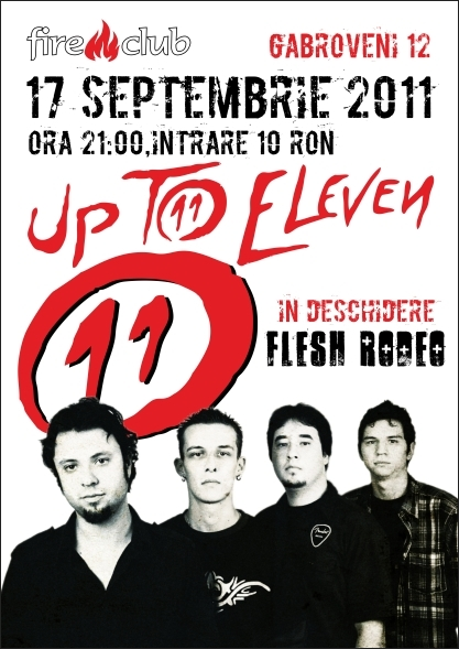 Concert Up To Eleven si Flesh Rodeo in Fire Club