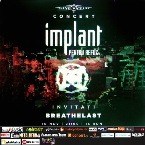 Concert IPR si Breathelast in Wings Club