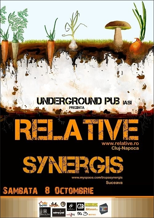 Concert Relative si Synergis in Underground Pub