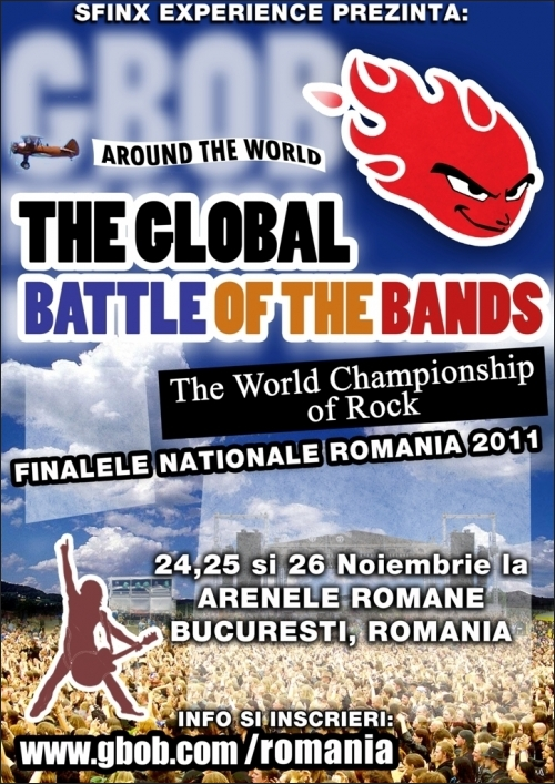 The Global Battle of The Bands noiembrie 2011 la Arenele Romane