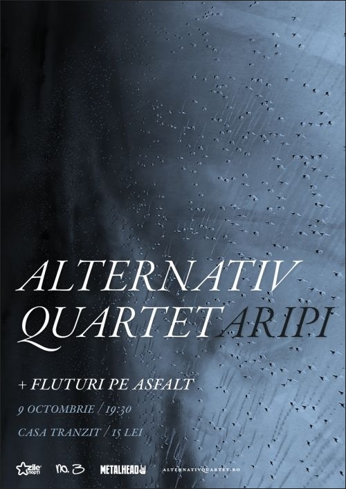 Concert Alternativ Quartet in turneul de promovare Aripi