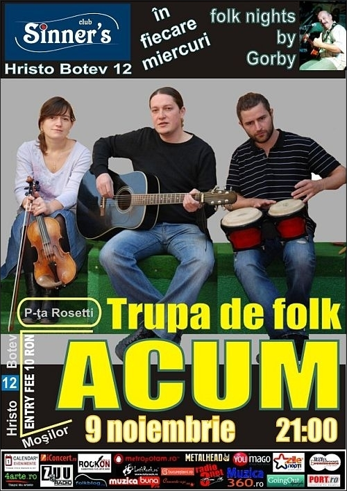 Concert Acum in Sinner's Club