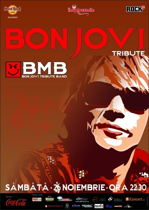 Concert BMB Tribut Bon Jovi in Hard Rock Cafe