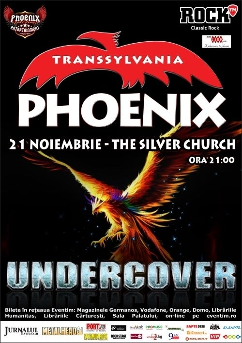 Concert Phoenix in Club 'The Silver Church'