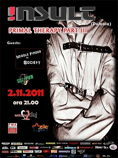 Concert !nsult si Middle Finger to Society in Irish Music Pub