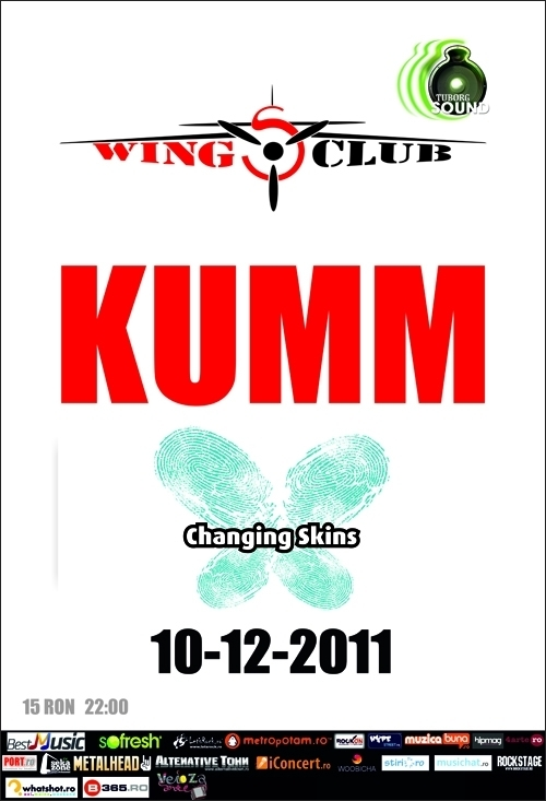 Concert KUMM si Changing Skins in Wings Club