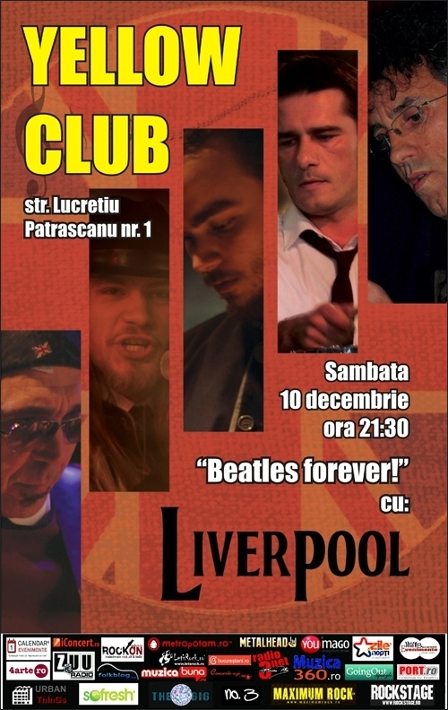 Concert Liverpool in Yellow Club