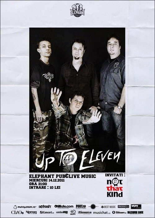 Concert Up To Eleven si Not That Kind in Elephant Pub