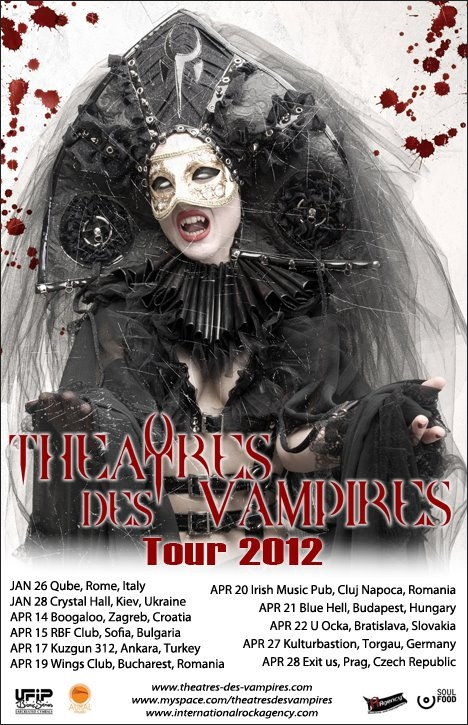 THEATRES DES VAMPIRES revin in Romania