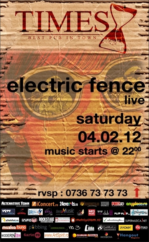 Concert Electric Fence in Times Pub Brasov