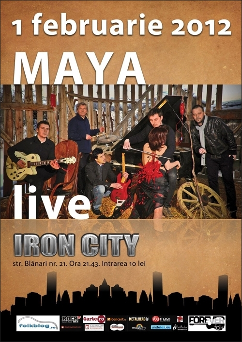 Concert Maya in Iron City
