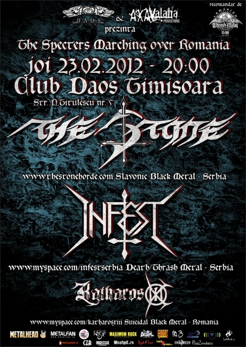 Concert The Stone si Infest in Club Daos Timisoara