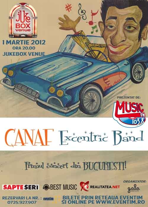 Concert Canaf Excentric in Club Jukebox