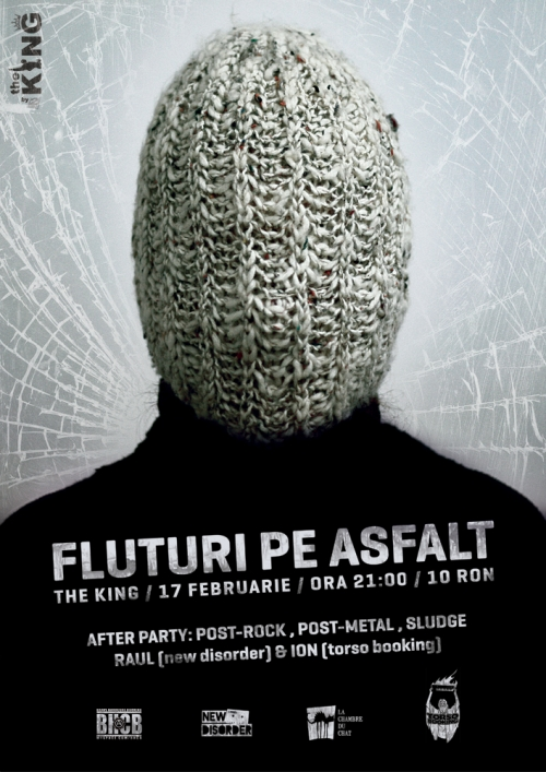Concert Fluturi pe Asfalt in The King din Cluj