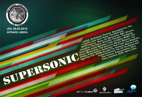 Concert Supersonic in Flying Circus Pub din Cluj-Napoca