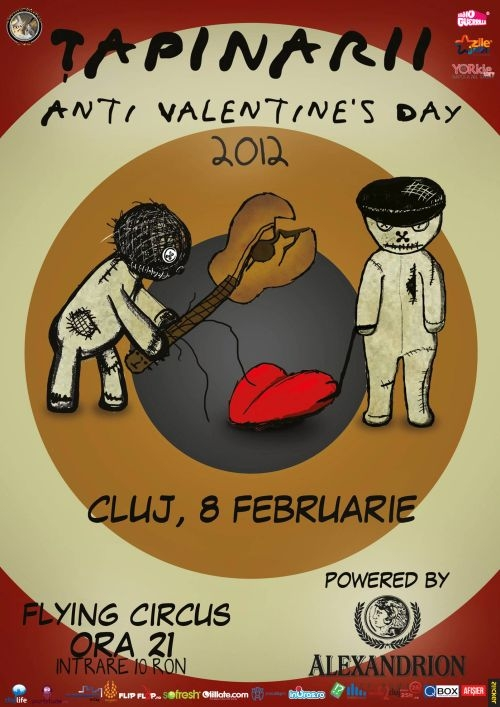 Concert Tapinarii in Flying Circus Pub - Anti-Valentine's Day Tour