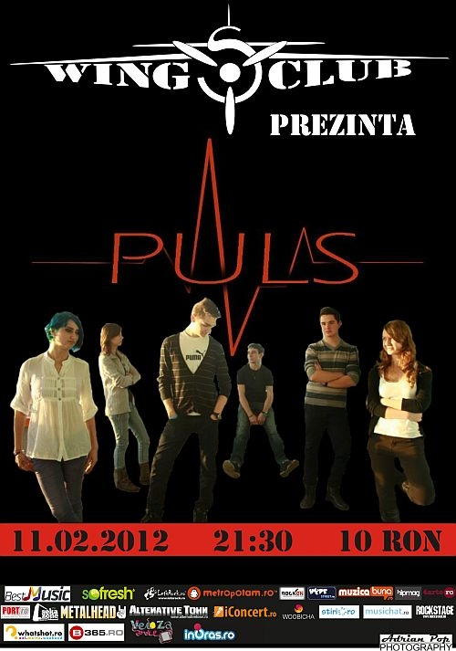 Concert al trupei Puls in Wings Club