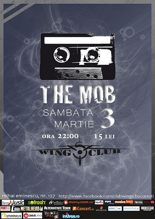 Concert al trupei The Mob in Wings Club