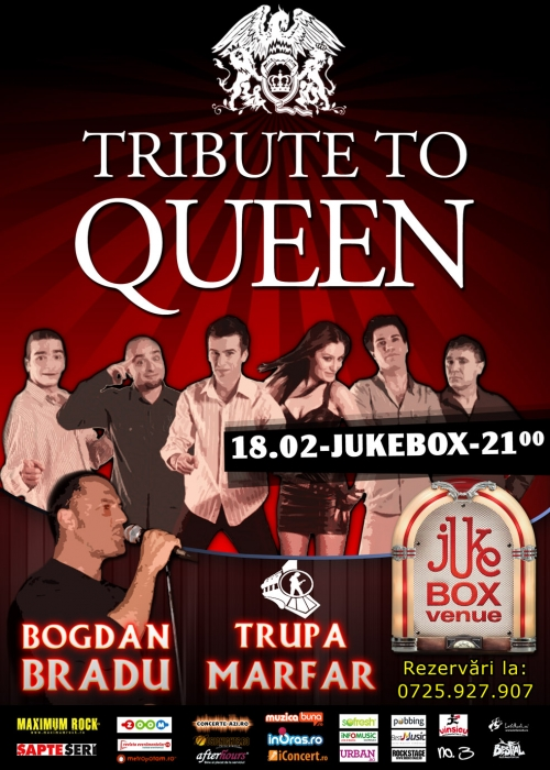 Marfar si Bogdan Bradu in Jukebox Venue - Tribute to Queen