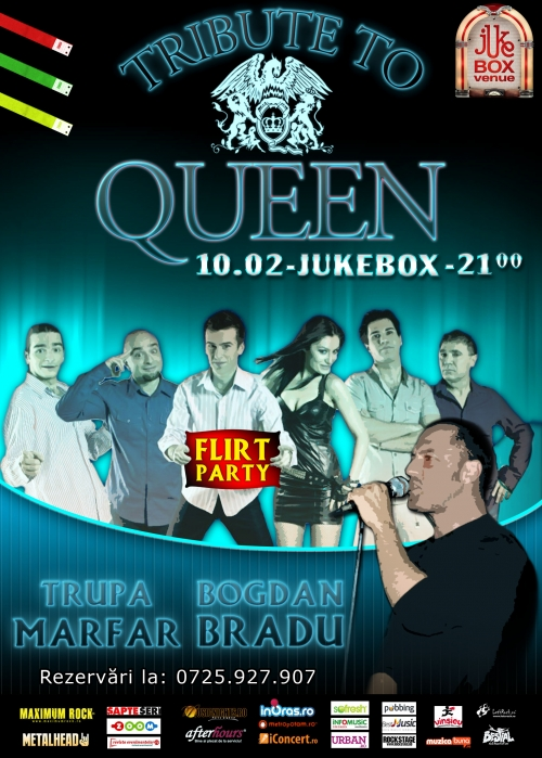 Tribute to Queen in Jukebox Venue