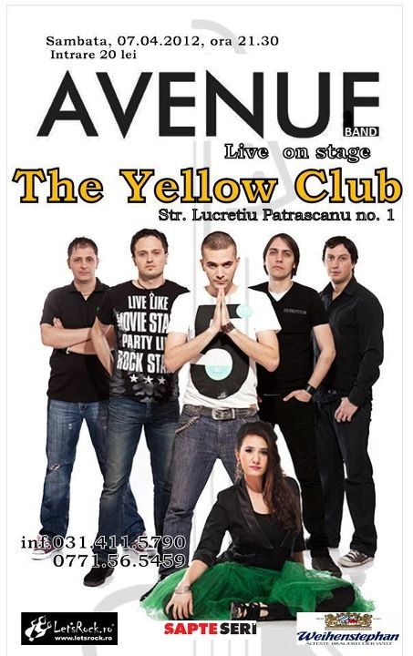 Concert Avenue in Yellow Club