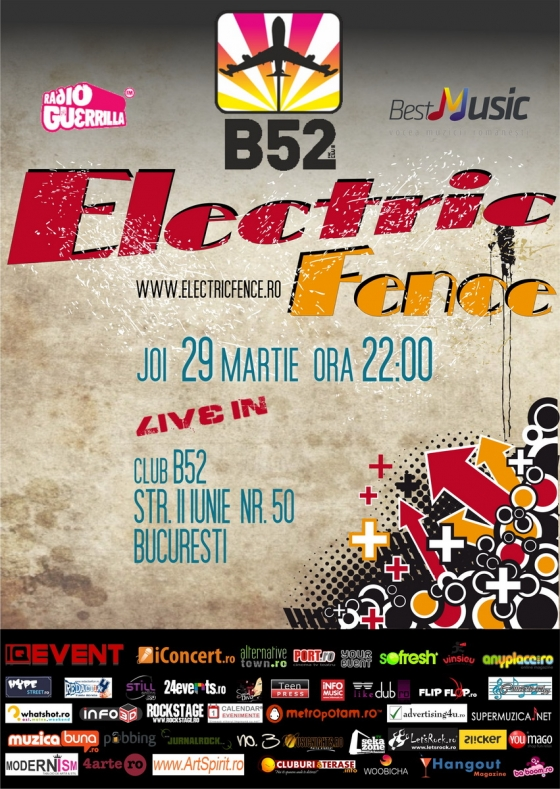 Concert Electric Fence in club B52