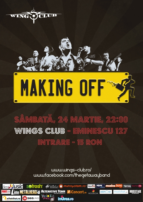 Concert Making Off – Live Cover Band in Wings Club