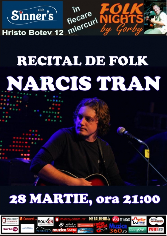 Concert Narcis Tran in Sinners