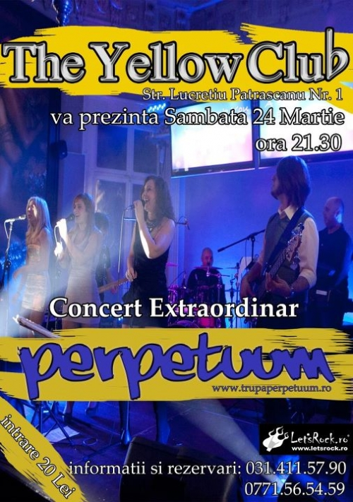 Concert PerpetuuM in Yellow Club