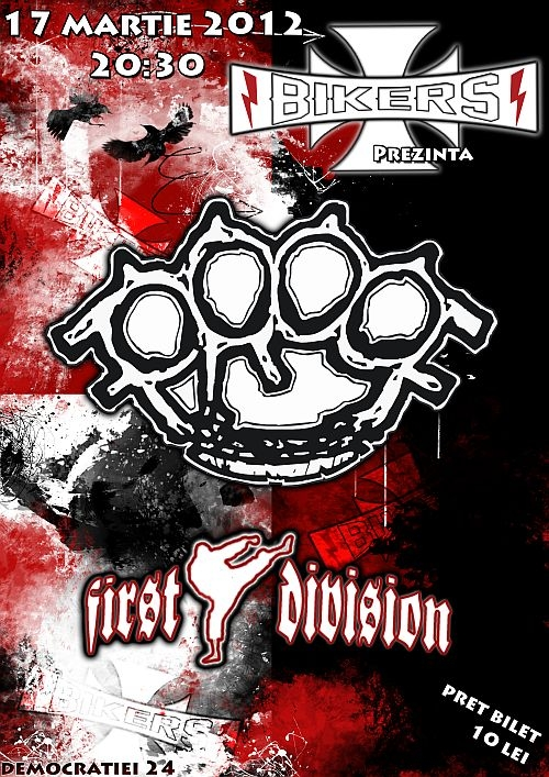 Concert ProoF si First Division in Bikers Club