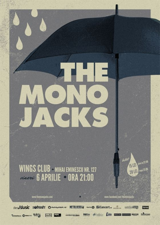 The Mono Jacks si TunesInnaOurHeads in Wings Club din Bucuresti