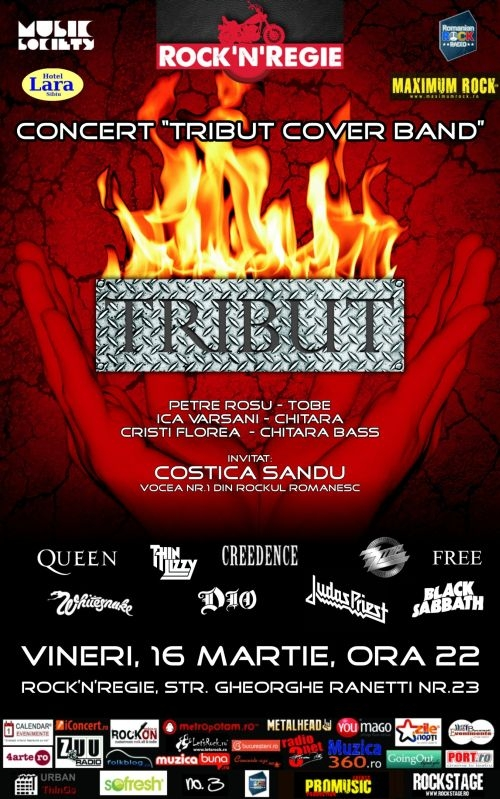 Concert Tribut Cover Band in Rock'n Regie