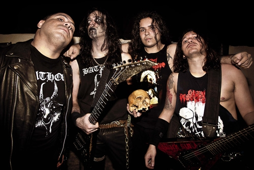 Grave Desecrator in club Private Hell