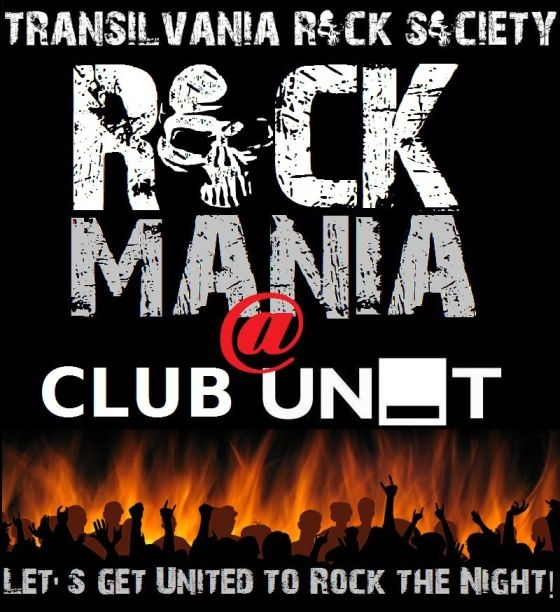 Prima editie ROCK-Mania by TRS in UNIT CLUB din Sibiu