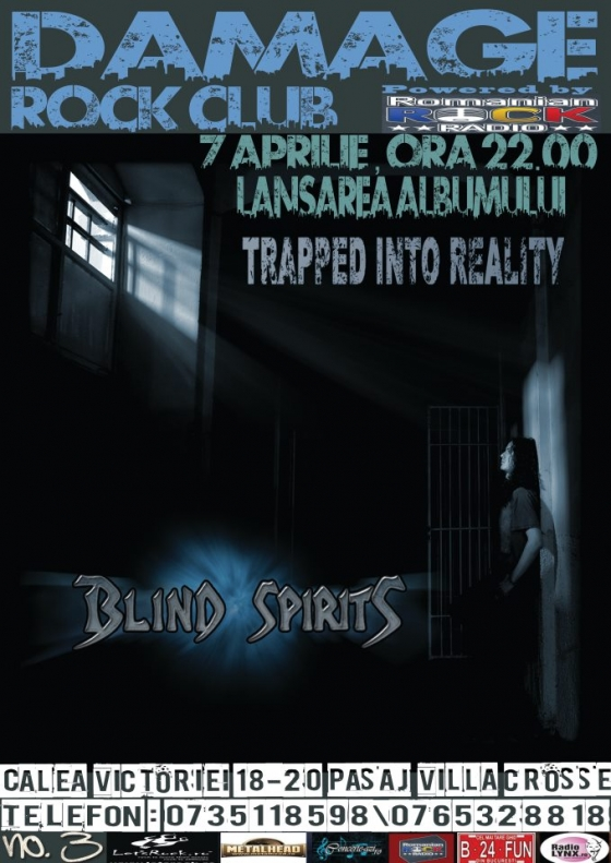 Blind Spirits lanseaza albumul Trapped Into Reality