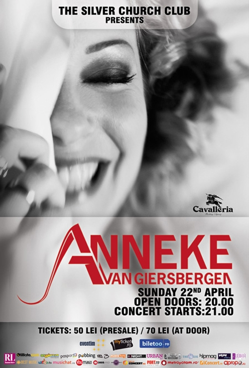 Concert Anneke Van Giersbergen in club The Silver Church