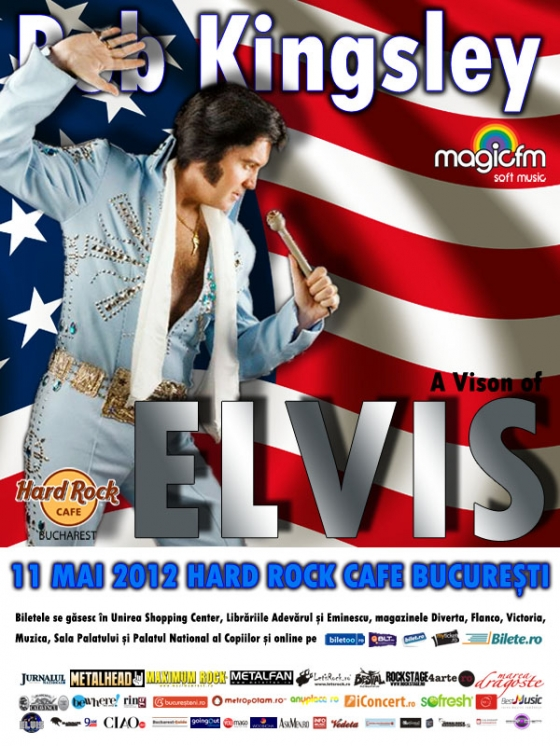 Concert Rob Kingsley - tribut Elvis Presley in Hard Rock Cafe