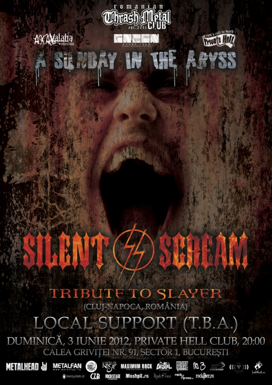 Concert Silent Scream in Private Hell Club
