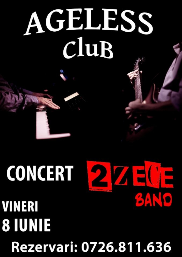 Concert 2 Zece Band in Ageless Club