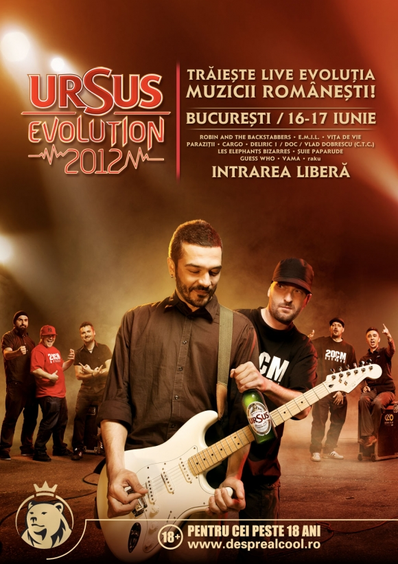 URSUS Evolution 2012 la Bucuresti