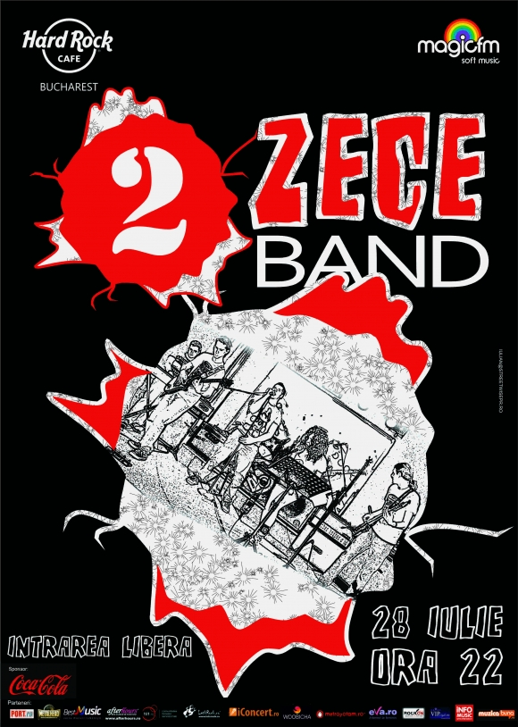 Concert 2 Zece Band in Hard Rock Cafe