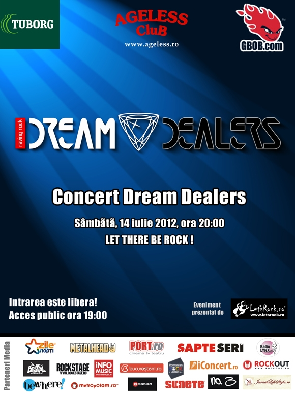 Concert Dream Dealers in Ageless Club